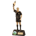 Resin Assistant Referee/Linesman Football Trophies