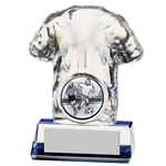 Crystal Football TShirt Trophies