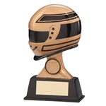 Resin Motor Sport Drivers Helmet Trophies