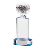 Golf Ball Optical Crystal Awards
