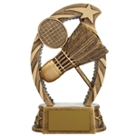 Resin Badminton Trophies