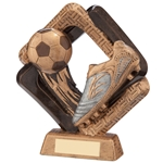 Sporting Unity Resin Football Boot & Ball Trophies