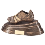 Agility Resin Football Boot Trophies