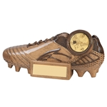 Resin Sonic Blast Football Rugby Boot Trophies