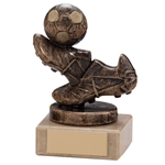 Agility Football Boot & Ball Trophies