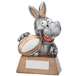 Resin 'What A Donkey!' Rugby Trophies