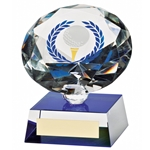 3D Crystal Golf Ball Diamond Trophies