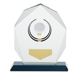 Glacier Golf Premium Glass Trophies