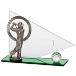 Match Play Golf Figure Golf Trophies