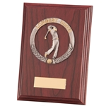 Longest Drive Galway Mahogany Wooden Plaques