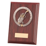 Golf Galway Mahogany Wooden Plaques