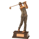 Classical Female Golf Figure Trophies