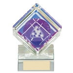 Victorious Crystal Pool Cube Trophies