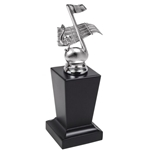 Silver Musical Note Treble Clef Trophies