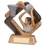 Resin Sporting Unity Netball Trophies