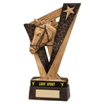 Resin Victory Horse/Equestrian Trophies