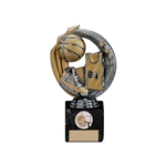 Gun Metal Basketball Renegade Legend Trophies