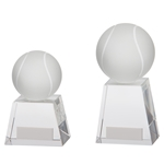 Crystal Voyager Tennis Ball Trophies