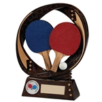 Resin Typhoon Table Tennis Trophies