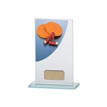 Clay Pigeon Shooting Premium Glass Plaques