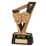 Resin Victory Drama Trophies