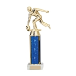 Any Sport Figure Trophies Blue Tubing