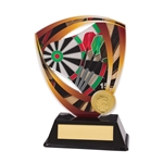 Acrylic Fortress Darts Trophies