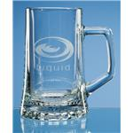 Glass Stern Tankard
