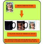 Personalised Printed Colour Changeable Mug