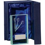 Darts Glass Plaques