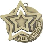 Perfect Attendance Medal and Ribbon