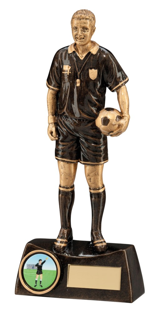 Resin Referee Football Trophies