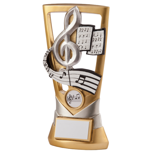 Musical Note Trophies