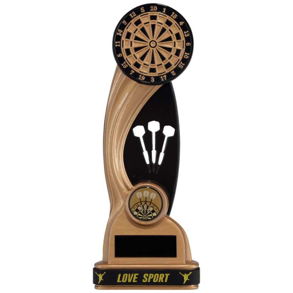 Resin Dartboard Darts Trophies