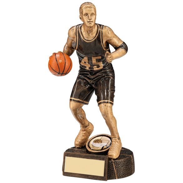 Resin Basketball Figure Trophies