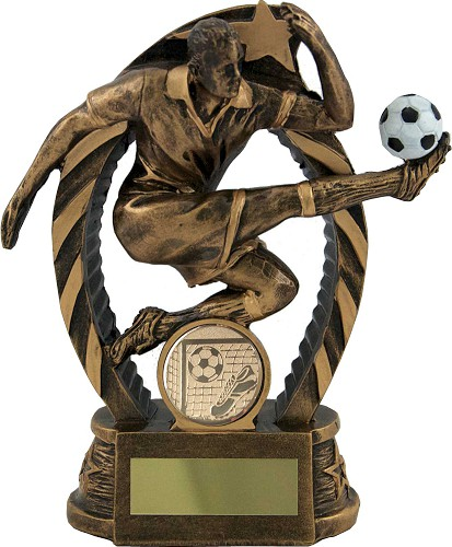 Resin Football Player Trophies