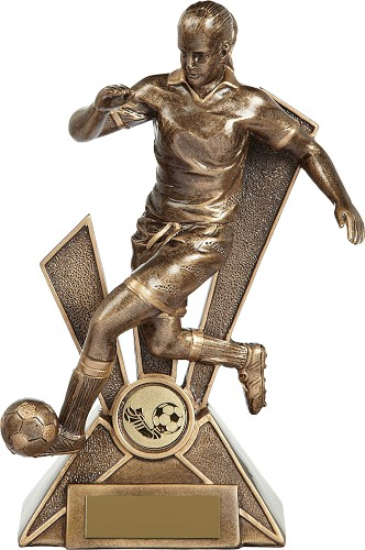 Resin Female Football Trophies