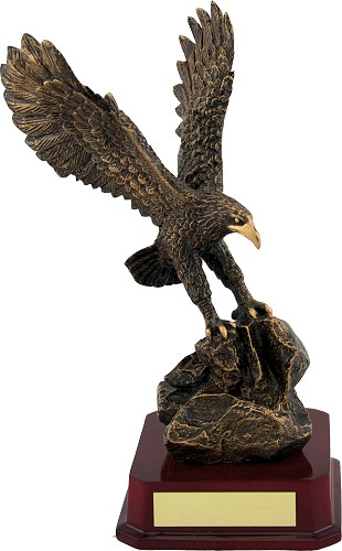 Resin Eagle Trophies