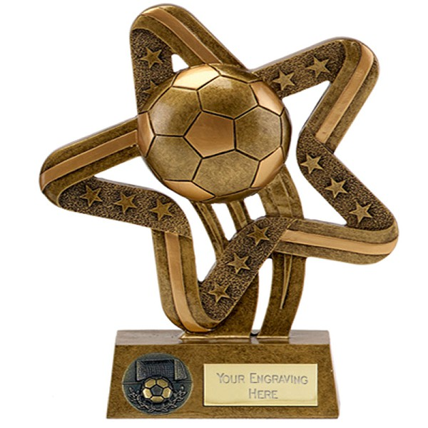 Star Football Ball Trophy