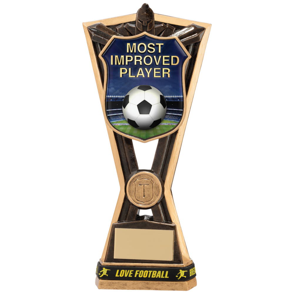 Most Improved Player Titans Football Trophies