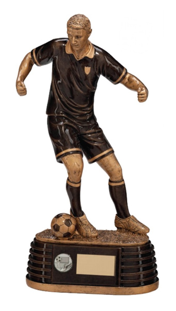 Colossus Resin Large Football Player Trophies