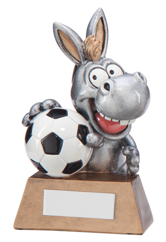 Resin 'What A Donkey!' Football Trophies