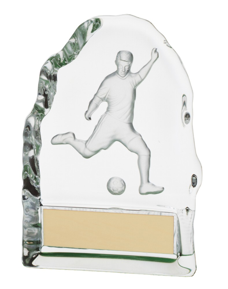 Challenger Crystal Football Figure/Player Trophies