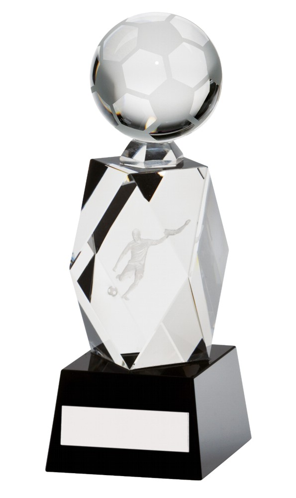 Crystal Astral Football Figure/Player Trophies