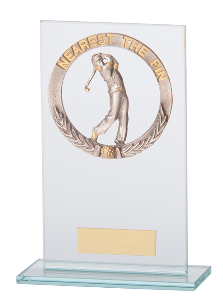 Nearest The Pin Golf Waterford Glass Trophies