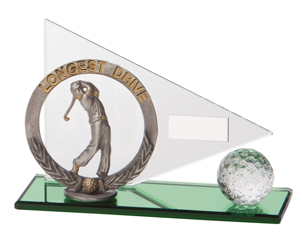 Match Play Longest Drive Golf Trophies