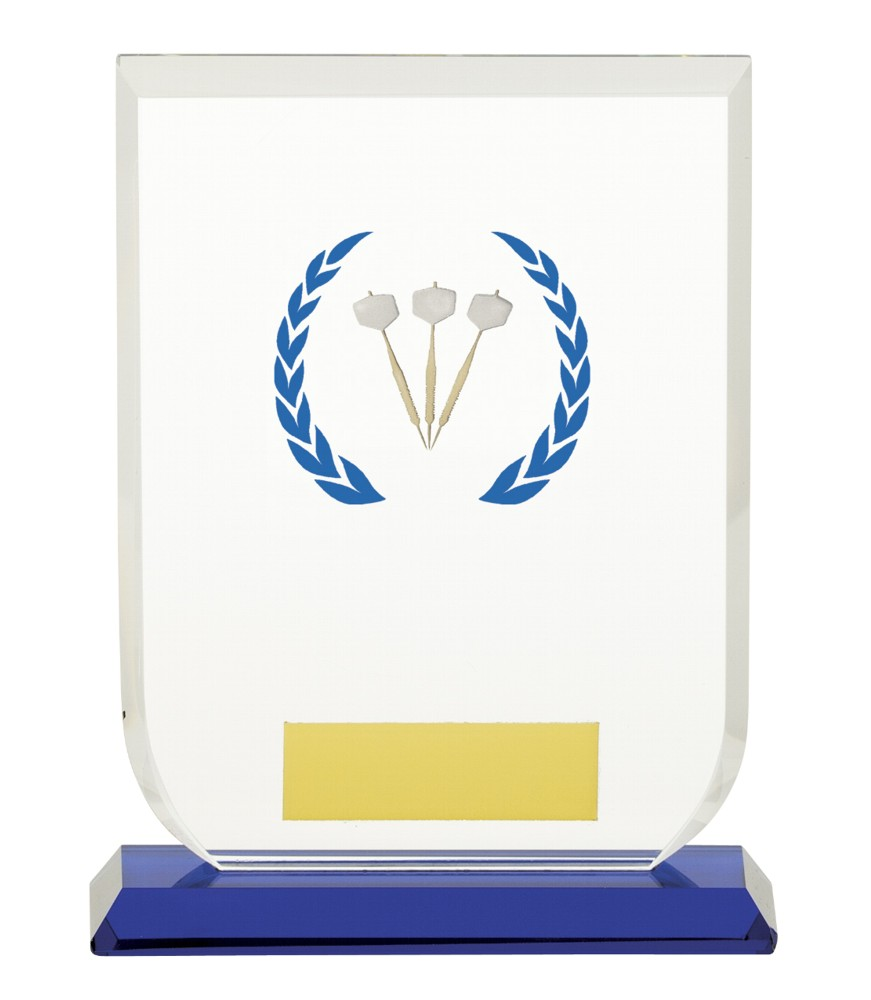 Gladiator Darts Premium Glass Plaques