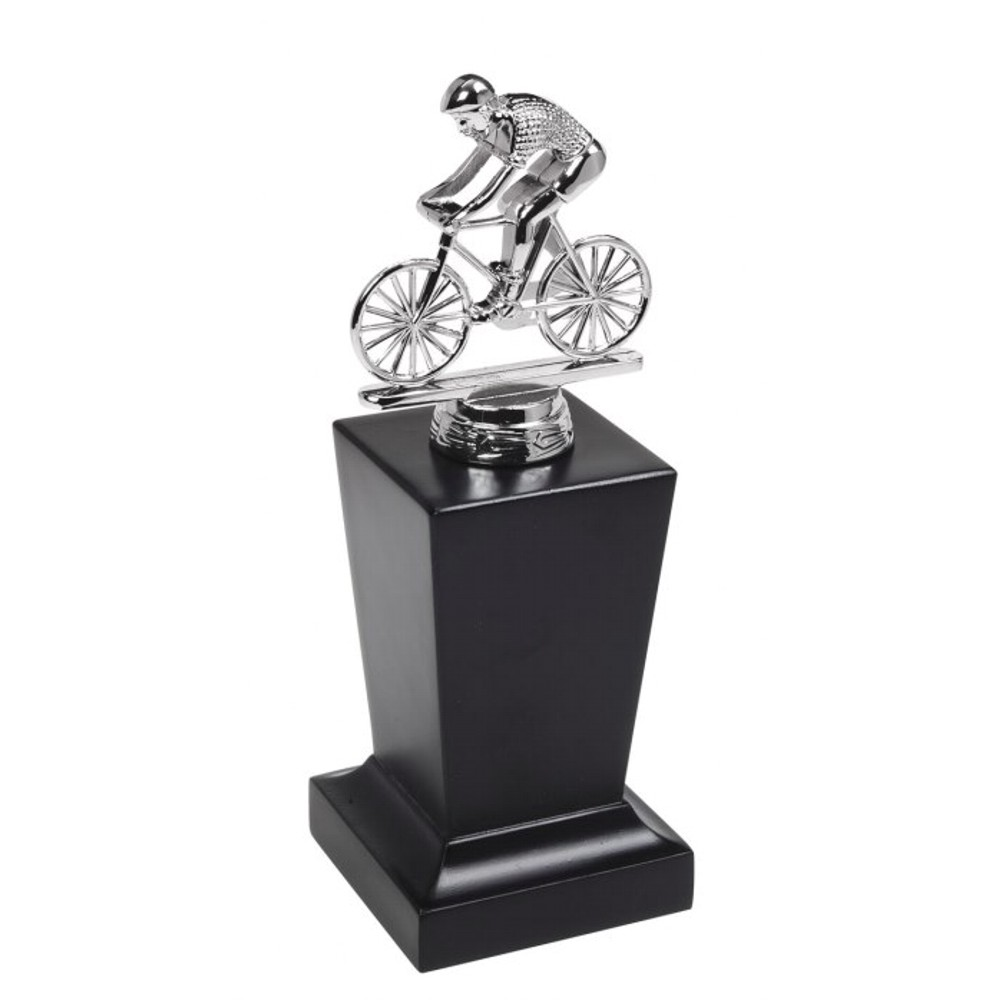Silver Chrome Cycling Trophies