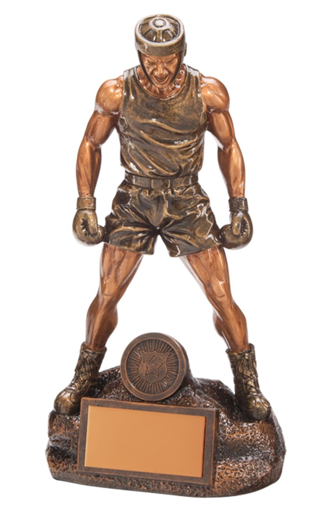Resin Ultimate Boxing Figure Trophies