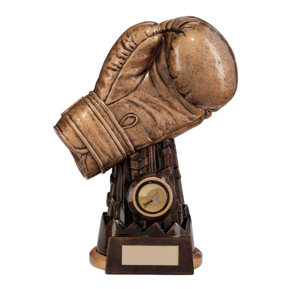 Resin Viper Boxing Glove Trophies
